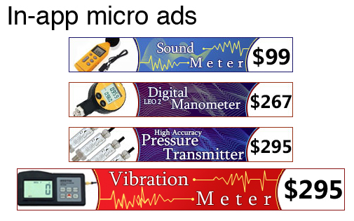 In-app Micro Ads
